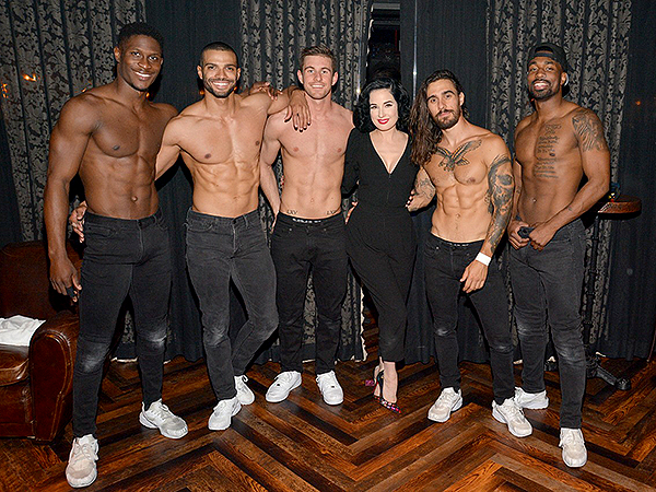 Dita Von Teese Attends MAGIC MIKE LIVE at Hard Rock Hotel Casino 4.17.19 MML Photography