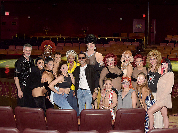 Marc Anthony at Zumanity by Cirque du Soleil April 23 2019