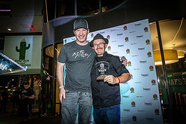 Hopped Taco 2019 Brian Chapin and Chef Phillip Dell