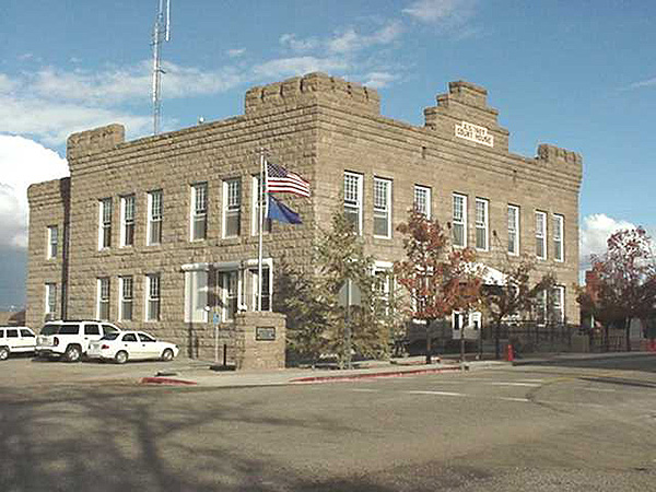 Esmeralda County Courthouse. Goldfield, NV