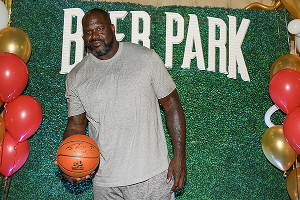 Shaquille ONeal on BEER PARK Red Carpet