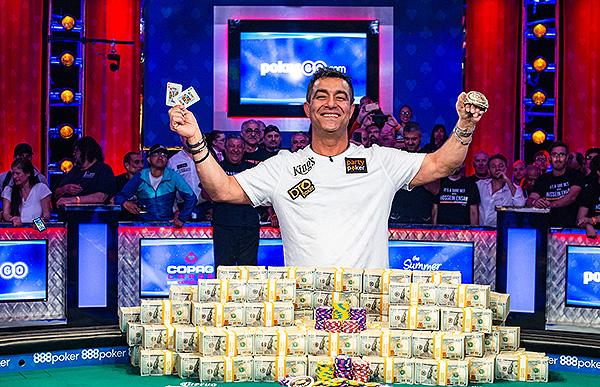 World Champion Hossein Ensan 2019 WSOP EV73 Final Table Giron 8JG4593