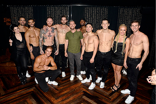 Lance Bass at MAGIC MIKE LIVE Las Vegas 7.26.19 1