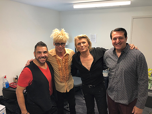 Niels Sayers Murray Sawchuck Hans Klok and Doug Lefty Leferovich