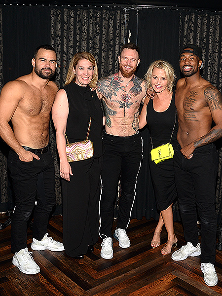 Michelle Beadle Attends MAGIC MIKE LIVE at Hard Rock Hotel Casino 9.7.19
