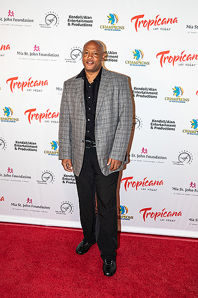 Maurice Greene at Trago Lounge inside Tropicana Las Vegas Photo Credit Key Lime Photography