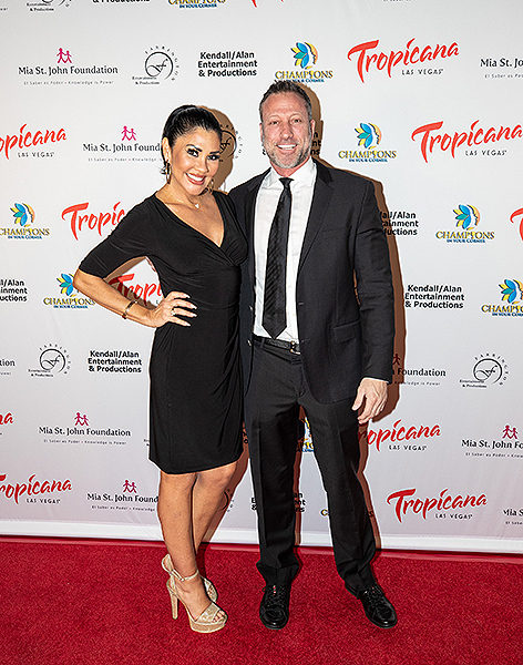 Mia St. John and Jon Orlando at Trago Lounge inside Tropicana Las Vegas Photo Credit Key Lime Photography