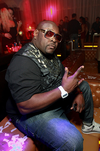 Big Black parties at Hyde Bellagio Las Vegas 12.29.12