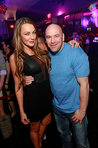 Dana White parties at Hyde Bellagio Las Vegas 12.30.12
