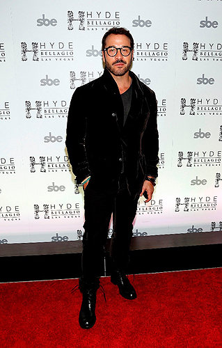 Jeremy Piven at Hyde Bellagio Las Vegas NYE 12.31.12