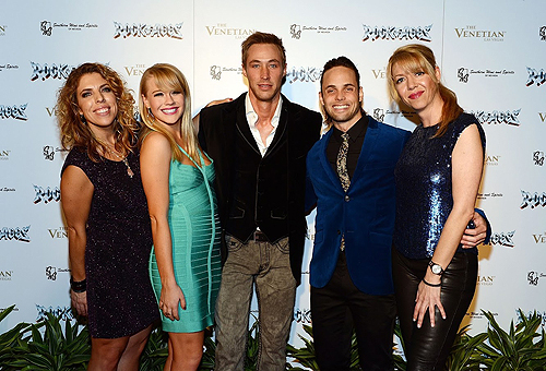 Kristin Hanggi Carrie St. Louis Kyle Lowder Justin Mortelliti Kelly Devine ROCK OF AGES