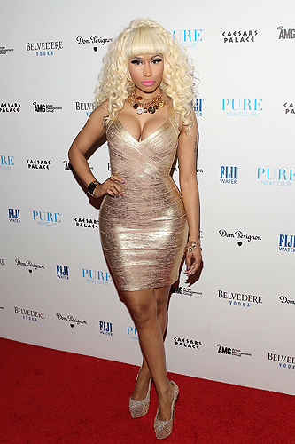 Nicki Minaj Red Carpet PURE Nightclub