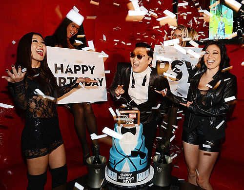 PURE Nightclub PSY Birthday Cake