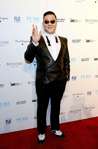 PURE Nightclub PSY Red Carpet