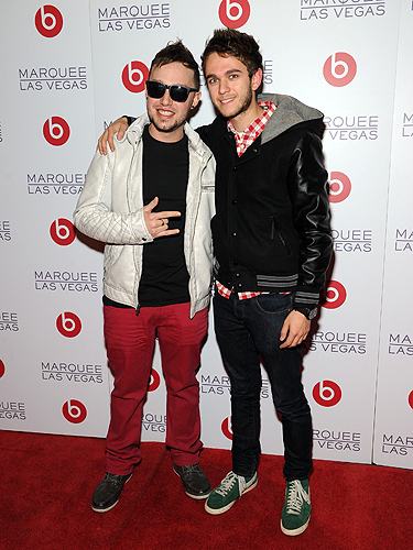 DJs Robbie Wilde and ZEDD Beats by Dre After Party Marquee Nightclub