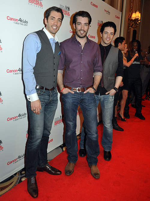 The Property Brothers Johnathan Drew Canon 2013 Benefit for The National Center For Missing And Exploited Children18950 2