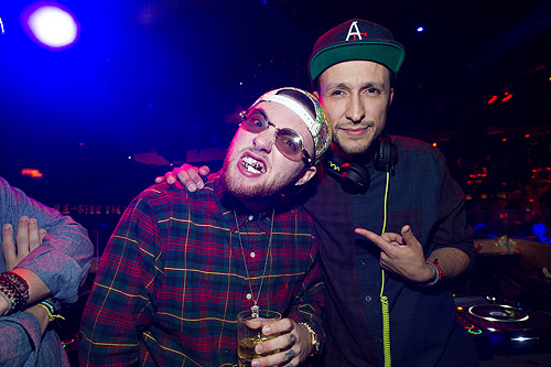Mac Miller and DJ Vice TAO