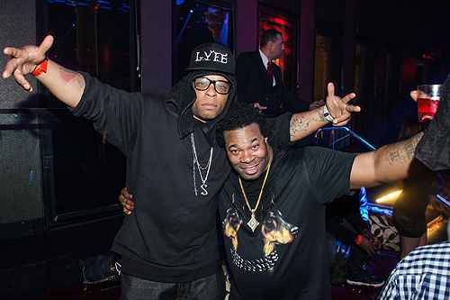 Spliff Star Busta Rhymes TAO Nightclub