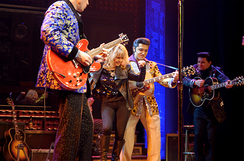 Pia Zadora Jams with Million Dollar Quartet 2.4.14 Caesars Entertainment copy