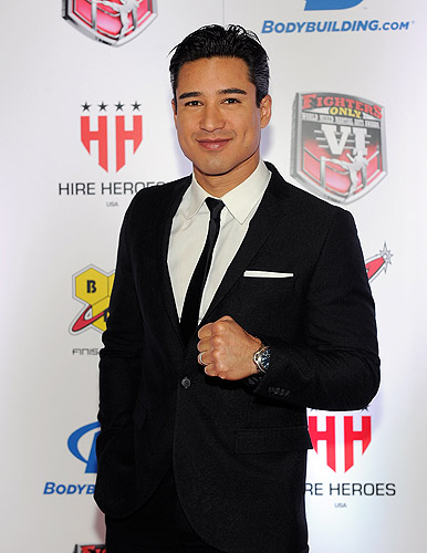 Mario Lopez - Photo credit Wire Image-Dave Becker