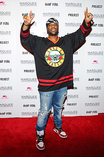 ASAP Ferg Red Carpet at Marquee