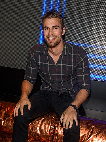 Hakkasan Nightclub Theo James