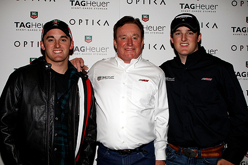 Richard Childress Austin Ty Dillon at Optica-Venetian Las Vegas 3.8.13
