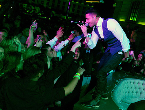 Jay Sean Chateau Nightclub Anniversary Rooftop Performance 2