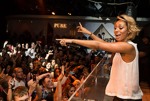 Keri Hilson PURE Nightclub Performance 2