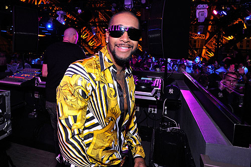 Omarion Chateau Nightclub Rooftop DJ Booth