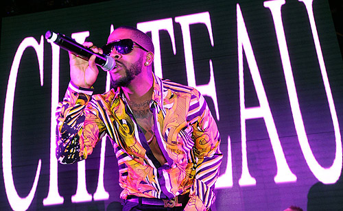 Omarion Chateau Nightclub Rooftop Performance 2