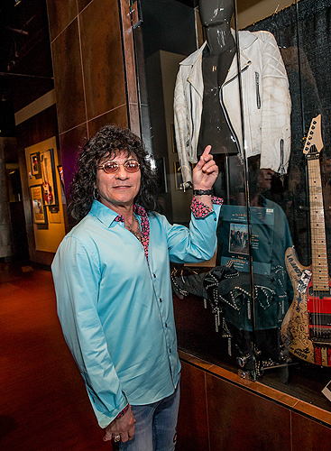 Paul Shortino from RAIDING THE ROCK VAULT with White Leather Jacket from This Is Spinal Tap Credit Erik Kabik