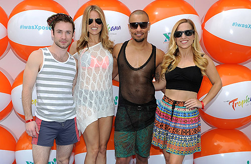 Rock of Ages cast at Xposed in the Tropicana Beach Club at The New Tropicana Las Vegas March 29 2014 Credit David Becker WireImage