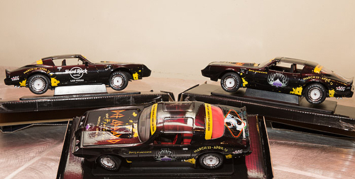 4.10.13 custom wrapped cars in honor of VIVA Hysteria gifted by AEG Live and Hard Rock Hotel and Casino Las Vegas