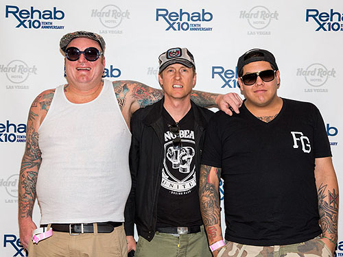 04.21.13 Sublime with Rome on Red Carpet at REHAB at Hard Rock Hotel - Photo Credit Eric Kabik