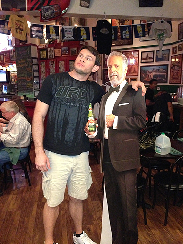 Forrest Griffin Hussongs Cantina