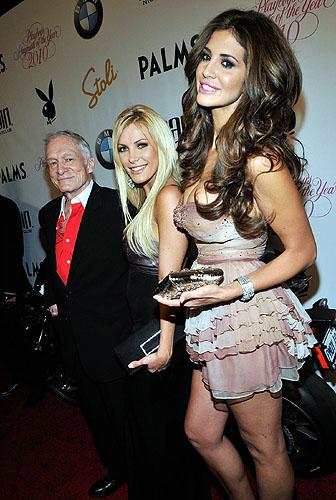 Hugh Hefner Announces 2010 Playmate Of The Year