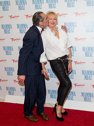 Alex Yemenidjian and Judy Craymer  MAMMA MIA Grand Opening 5.16.14 Credit - Erik Kabik