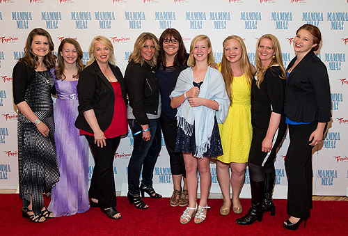 Cast of TLCs Sister Wives - MAMMA MIA Grand Opening 5.16.14 Credit - Erik Kabik