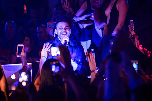 The Weeknd Perfofmance Hakkasan Las Vegas Ling Ling Club