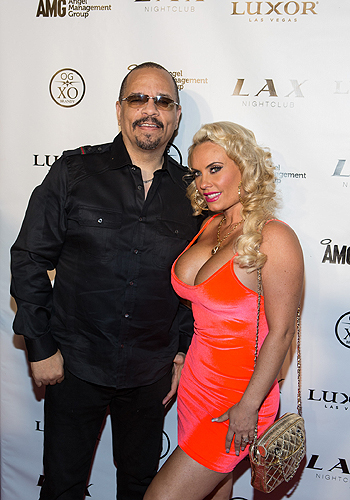 Ice-T and Coco_Red Carpet_LAX Nightclub