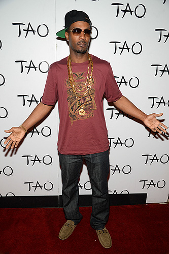 Juicy J TAO Red Carpet