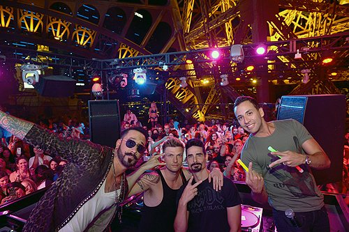 Backstreet Boys On Stage