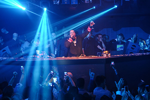 Busta Rhymes Performance Hakkasan Nightclub Hakkasan Thursdays