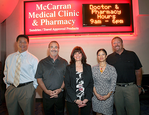 McCarran Medical Clinic Sign