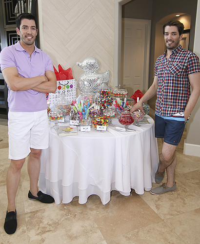 Scott Brothers with Sugar Factory Table