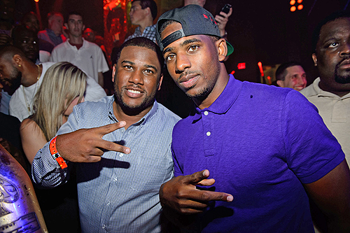 Chris Paul and Brother CJ Paul
