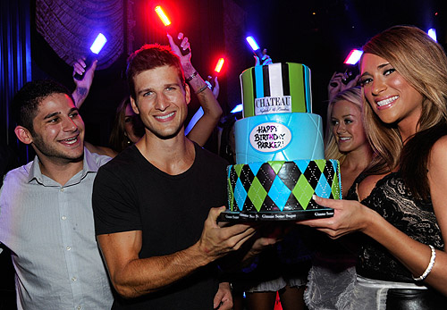 Parker_Young_Poses_with_His_Birthday_Cake_at_Chateau_Nightclub__Gardens