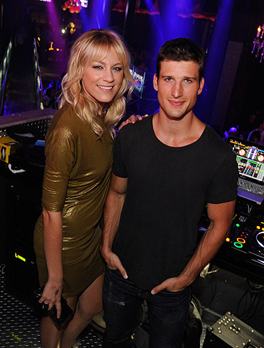Parker_Young_and_Brit_Morgan_Pose_Inside_Chateau_Nightclub__Gardens