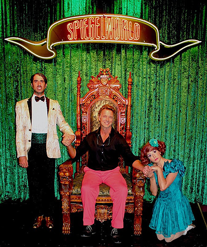 John Schneider with The Gazillionaire and Penny Pibbets